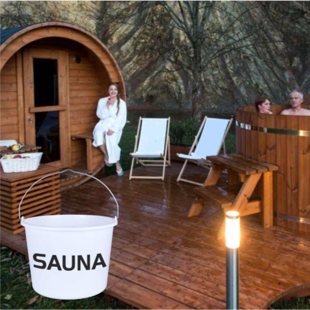 miarki.net - wiadro białe sauna
