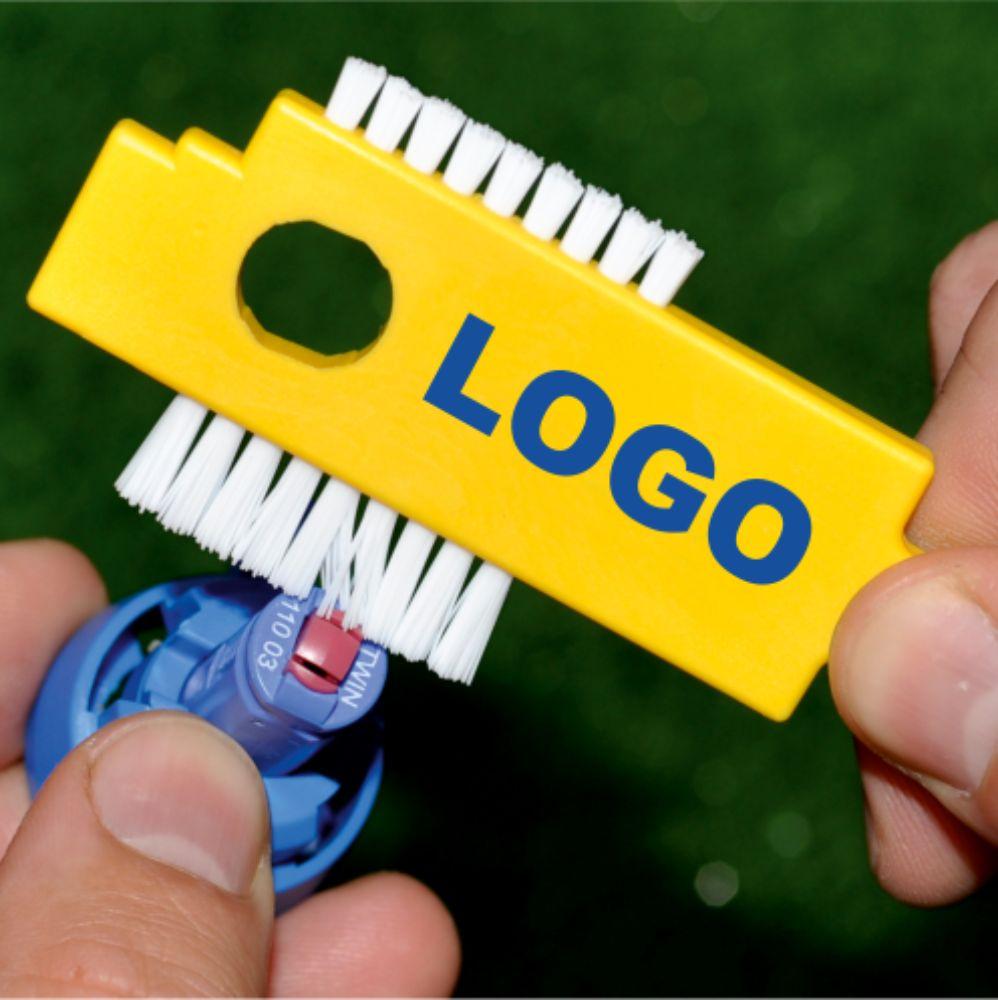 miarki.net - szczoteczka do czyszczenia dysz Nozzle z logo z nadrukiem